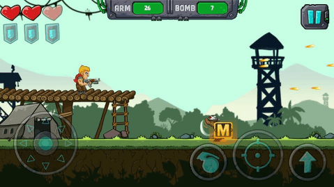 Hình ảnh trong game Metal Shooter: Super Soldiers tại HieuMobile