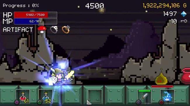 Hình ảnh YJRPFMG của Tải game Buff Knight Advanced - Retro RPG Runner tại HieuMobile