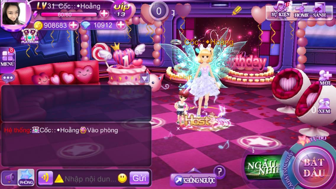 Lung linh tuyệt sắc màu với game Super Dancer VN