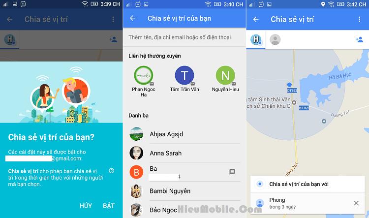 Hình ảnh YxfFqRC của Google Map thêm tính năng chia sẻ vị trí hiện tại với người khác tại HieuMobile