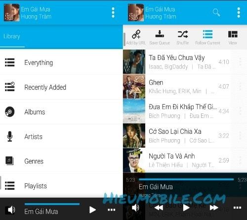 Avee Player là ứng dụng nghe nhạc trực tuyến vừa có thể tự động tạo ra video sóng nhạc