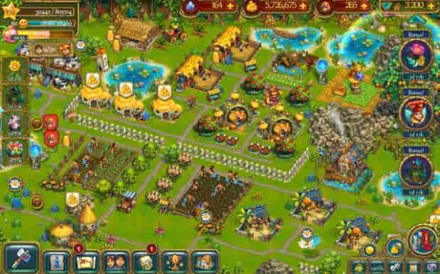Hình ảnh trong game The Tribez: Build a Village - Quản lý nông trại