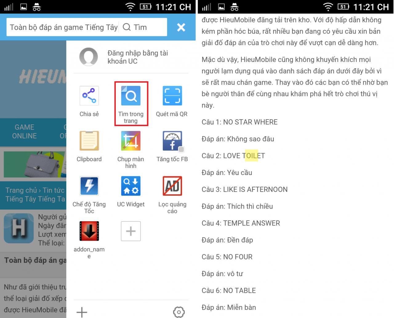 Hình ảnh ZSvPyLl của Cách tìm nhanh một từ ngữ hoặc đoạn văn bản trong một trang web tại HieuMobile