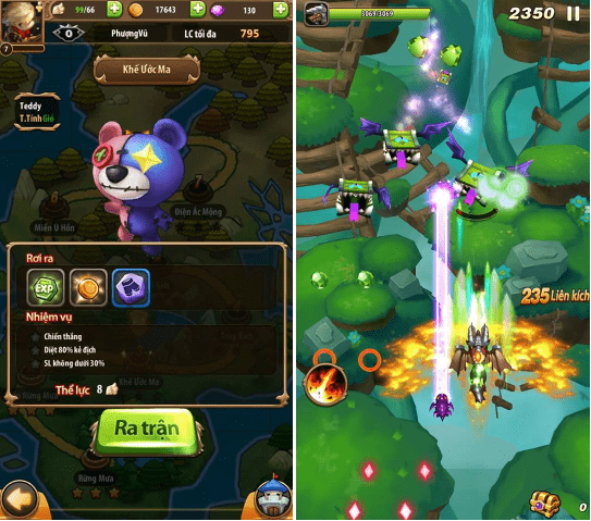 Hình ảnh trong game Bí Kíp Luyện Rồng 3D Mobile