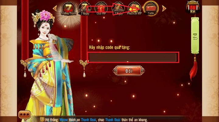 Hình ảnh của Cách tìm nhận và sử dụng giftcode Ngôi Sao Hoàng Cung tại HieuMobile