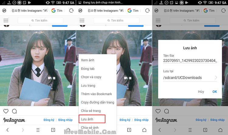 Hình ảnh aBEK9Z2 của 3 cách dễ nhất để tải hình ảnh đã lưu trên Instagram về điện thoại tại HieuMobile