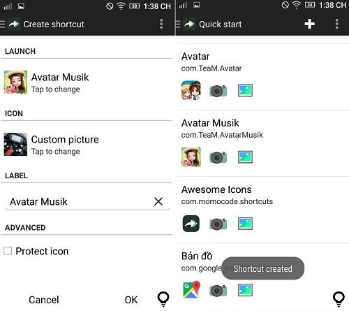 Hình ảnh aUXOdn3 của Tải Awesome icons - Đặt tên và thay đổi biểu tượng ứng dụng Android tại HieuMobile