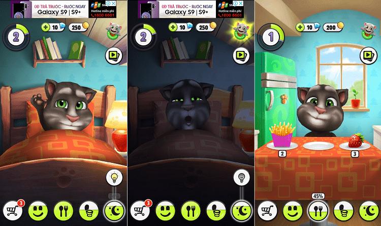 Hình ảnh bhVtuec của Tải game My Talking Tom - Nuôi mèo trên điện thoại tại HieuMobile