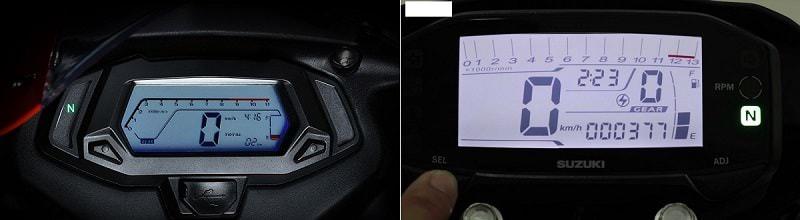 Hình ảnh bjGrPrT của Đánh giá và so sánh thông số kỹ thuật Demon 150 GR và GSX R150 tại HieuMobile