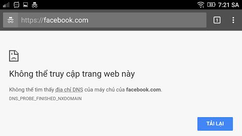 Hình ảnh c112LTh của Cách khắc phục Facebook vào không được cho tháng 8 2017 tại HieuMobile