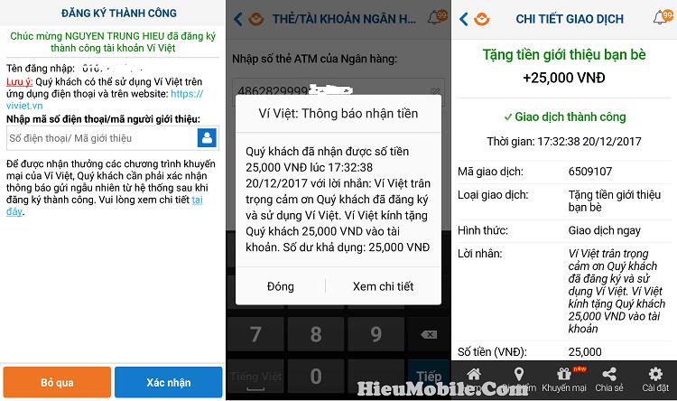 Hình ảnh c8LKtIT của Hướng dẫn nhận 25k tiền mua thẻ nạp từ ứng dụng Ví Việt tại HieuMobile