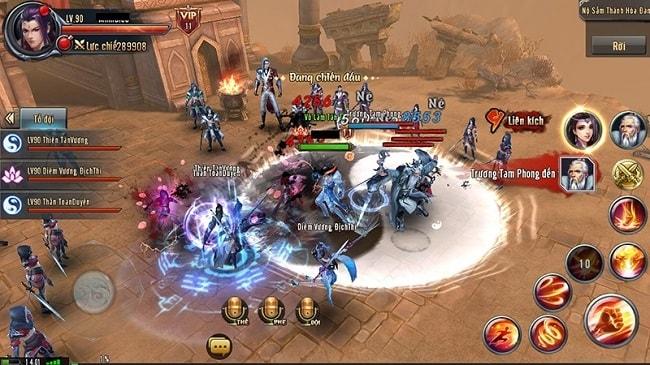 Hình ảnh trong game Ỷ Thiên Đồ Long Ký 3D Mobi