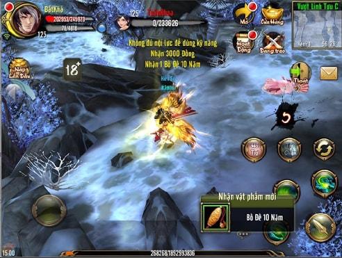Linh Tuu Cung cua Thien Long Bat Bo 3D Mobile