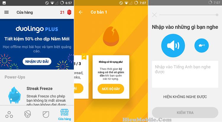 Hình ảnh cfKEWfW của Tải Duolingo - Ứng dụng hỗ trợ học ngoại ngữ cho điện thoại tại HieuMobile