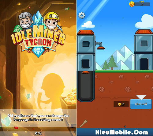 Hình ảnh coVGypZ của Tải game Idle Miner Tycoon - Quản lý mỏ vàng cực vui tại HieuMobile