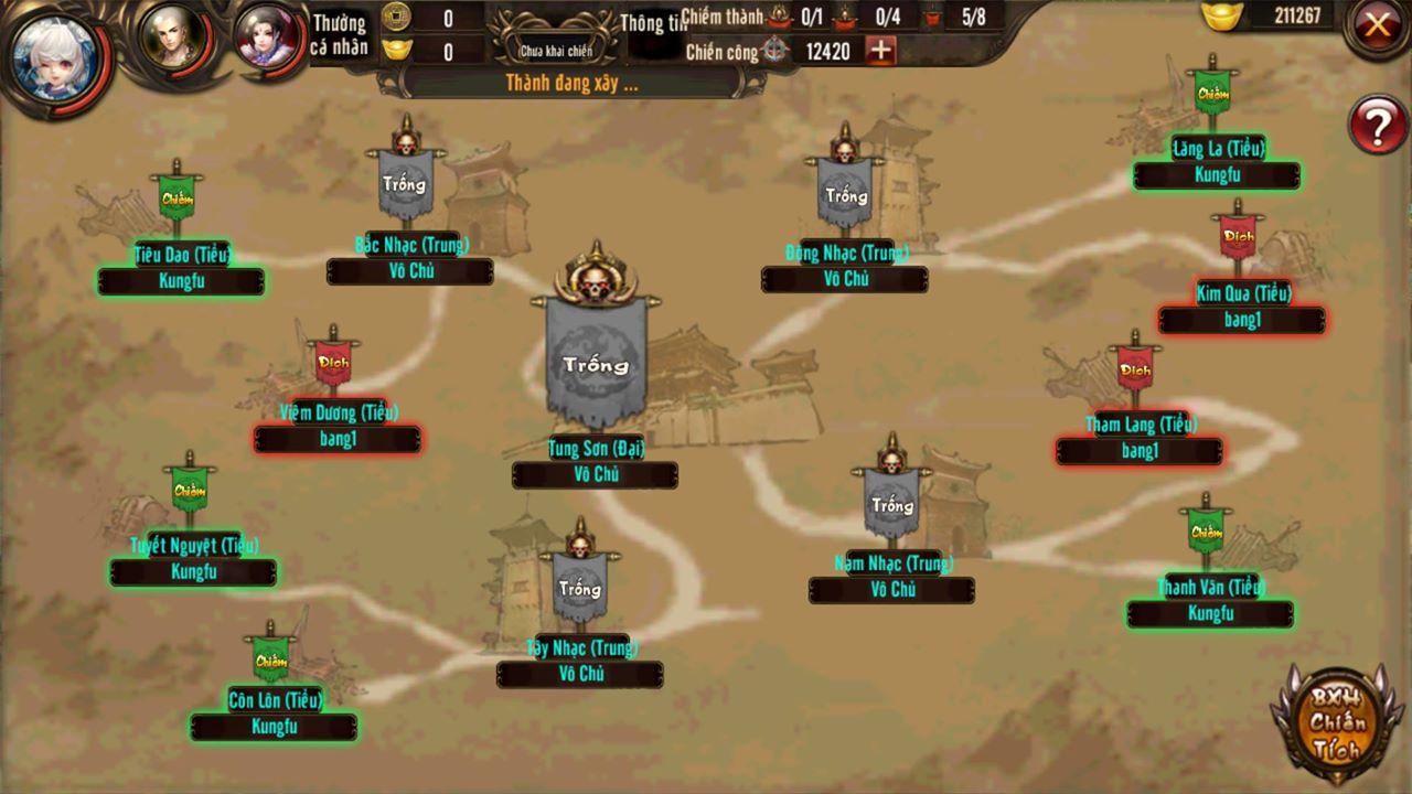 Công Thành Chiến của Kungfu Chi Vương