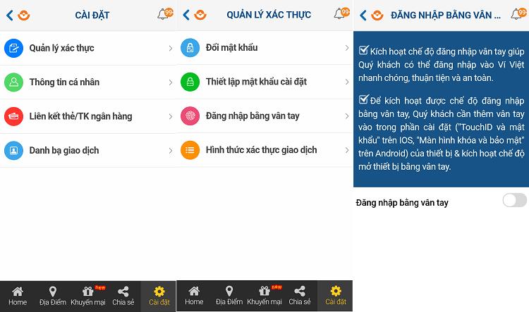 Hình ảnh cvalEPq của Tải Ví Việt - Ứng dụng ví điện tử đa tiện ích bảo mật cao tại HieuMobile