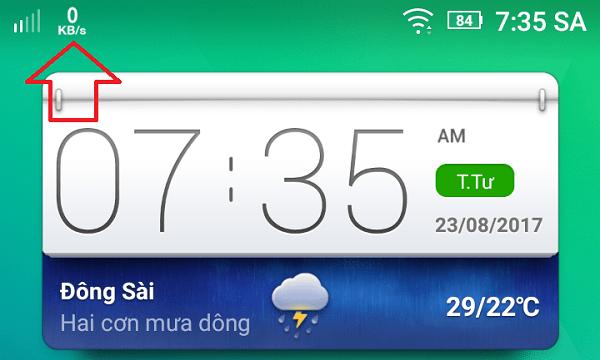Hình ảnh d32P882 của Tải Internet Speed Meter - Đo tốc độ mạng bằng icon trên màn hình tại HieuMobile