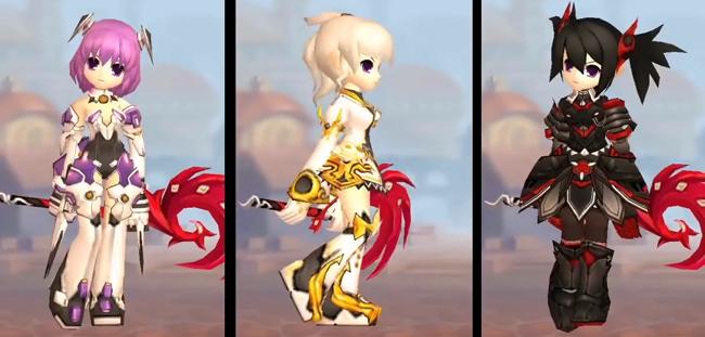 03 lớp nhân vật đặc trưng của game Elsword: Evolution Mobile