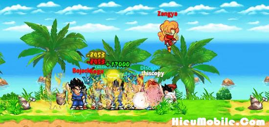 Hình ảnh dHaupoX của 2 thay đổi về các loại Boss của Ngọc Rồng Online trong năm 2017 tại HieuMobile