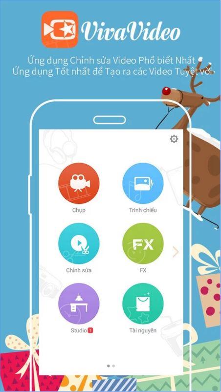 Tải VivaVideo - Ứng dụng Quay Clip Selfie miễn phí