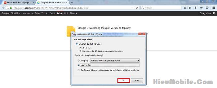 Hình ảnh dSQvPbS của Hướng dẫn tải file ở Google Drive bằng Download IDM nhanh chóng tại HieuMobile