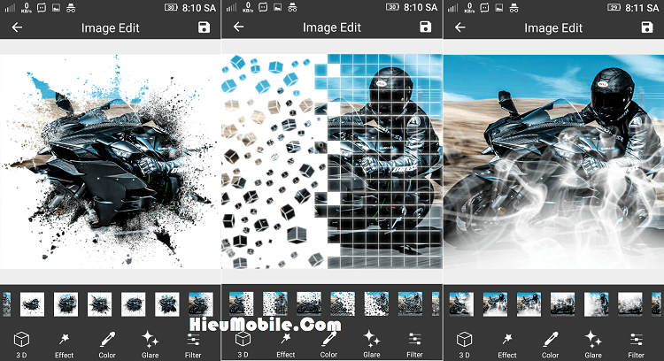 Hình ảnh dg4rahp của Tải Pixel Effect: Photo Editor - Hiệu ứng tan biến mây khói cho hình ảnh tại HieuMobile