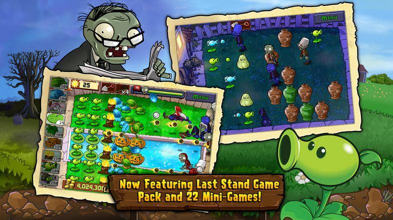 Plants Vs Zombies có các map đa dạng