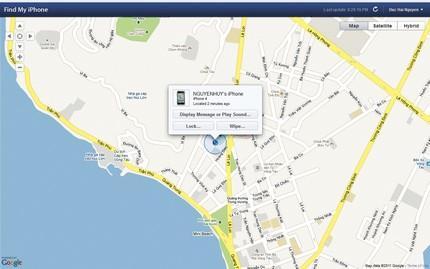Dù điện thoại có nằm ở đâu, cũng sẽ dễ dàng tìm ra với vài cú click chuột