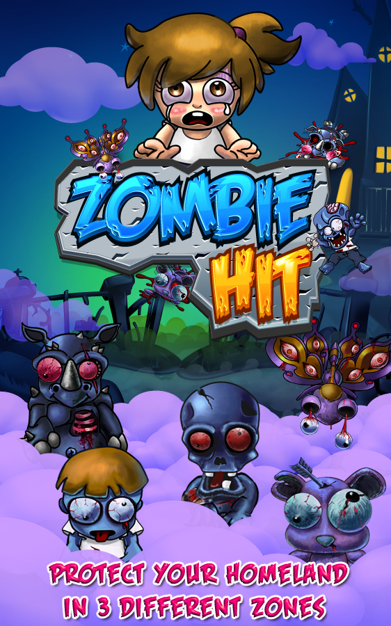Hình ảnh trong game Zombie Hit