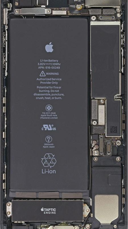 Hình ảnh fjrSAGK của Chia sẻ hình nền iPhone trong suốt nhìn xuyên thấu linh kiện máy cực đẹp tại HieuMobile