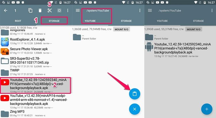 Hình ảnh flVx7tz của Hướng dẫn cài đặt Youtube Red trên máy Android đã Root tại HieuMobile