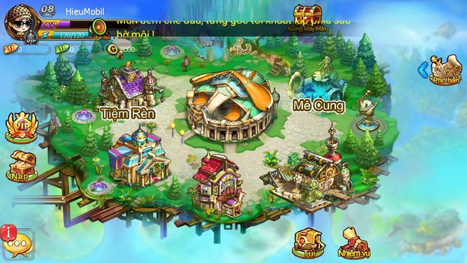 Hình ảnh trong game Gunny Mobi cho điện thoại tại HieuMobile