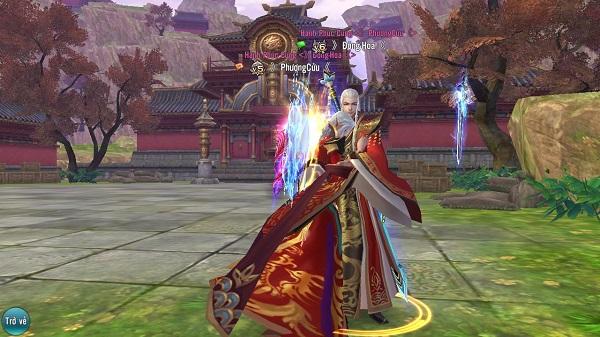 Ảnh minh họa cách tăng skill cho phái Thanh Vân Môn trong game Tru Tiên 3D
