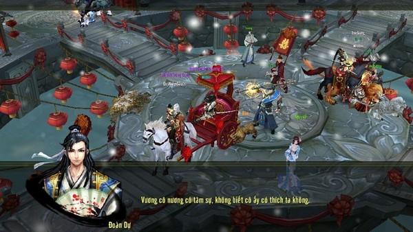 Kết hôn trong game Thiên Long Bát Bộ Mobile 3d