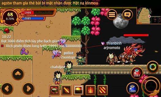 Ninja School Online Thú cùng nhau săn boss khủng