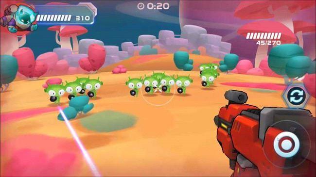 Hình ảnh iDNrKCZ của Tải game Galaxy Gunner - Bắn súng giải cứu ngân hà tại HieuMobile