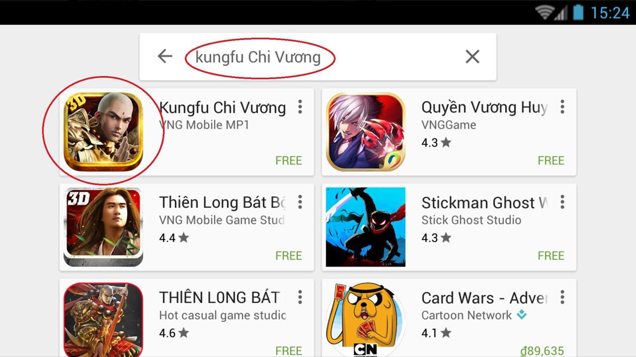 Choi Kungfu Chi Vuong tren PC laptop win xp 7 8 10