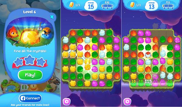Hình ảnh iVxoagw của Tải game Sky Charms - Xếp giọt nước nhiều màu sắc tại HieuMobile