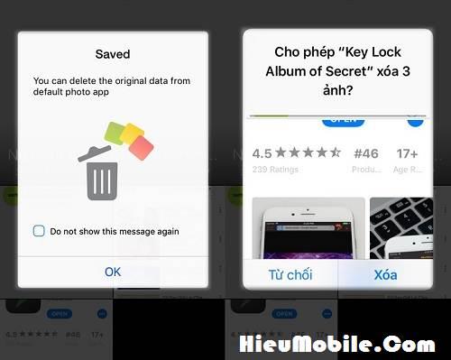 Hình ảnh ipi4dNn của Tải Secret Key Lock Album - Khóa chống mở hình ảnh riêng tư iPhone tại HieuMobile