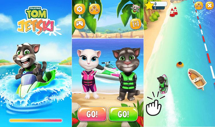 Hình ảnh j7zya0W của Tải game Talking Tom Jetski - Mèo đua Cano tại HieuMobile