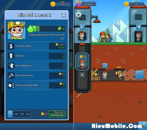 Hình ảnh j8qEoQF của Tải game Idle Miner Tycoon - Quản lý mỏ vàng cực vui tại HieuMobile