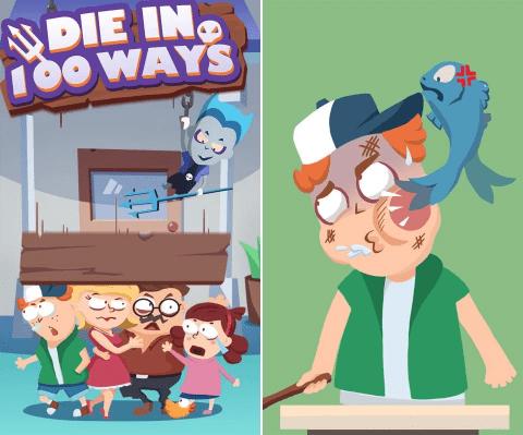 Hình ảnh trong game 100 Kiểu Chết - Die iN 100 Ways
