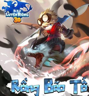 Rồng Bão Tố trong Bí Kíp Luyện Rồng 3D Mobile