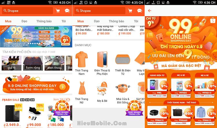 Hình ảnh jfgNcNA của Tải Shopee - Ứng dụng mua sắm trực tuyến nhiều khuyến mãi tại HieuMobile