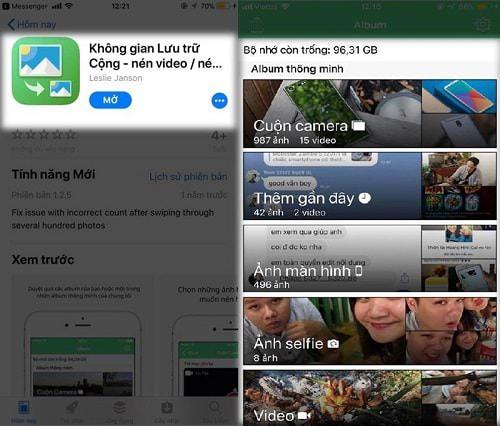 Hình ảnh jkR00pz của Tải Storage Space Plus - Nén dung lượng hình ảnh, video cho iPhone tại HieuMobile