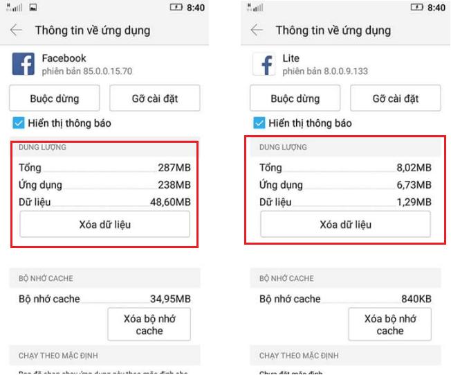 Facebook bi lag nang may