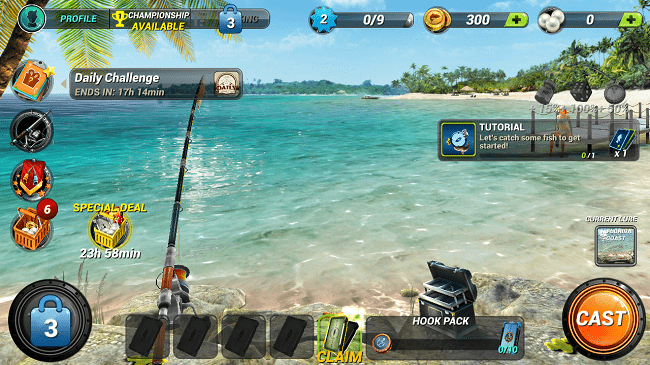 Hình ảnh k7NNmhu 1 của Tải game Fishing Clash - Câu cá 3D thực tế ảo tại HieuMobile