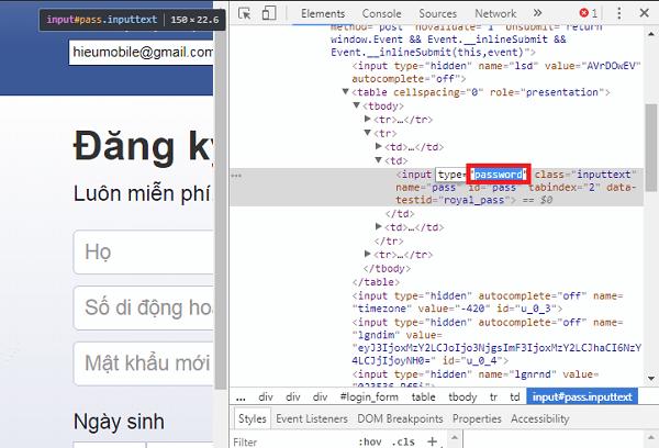 Hình ảnh kO6npvb của Mẹo xem lại mật khẩu đã lưu trên trình duyệt Chrome không cần plugin tại HieuMobile