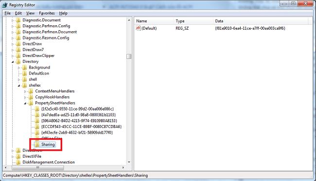 Hình ảnh kUeSPXq của Thêm nút Sharing của thư mục, tệp tin trong Properties cho máy tính tại HieuMobile